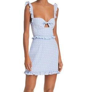For Love And Lemons Dresses - For Love & Lemons Sweetheart Mini Dress